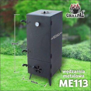 Wędzarnia metalowa Grillpal ME113