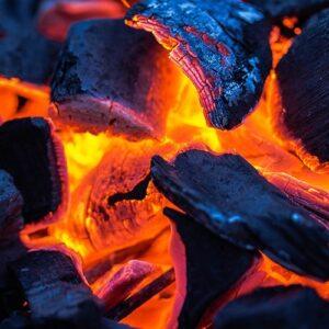 ogień rozpałka