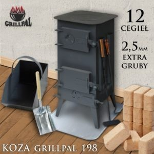 koza Grillpal 198 - 12 cegiel EXTRA GRUBY