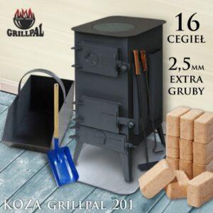 koza Grillpal 201 - 16 cegieł EXTRA GRUBY