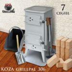 koza Grillpal 306 - 7 cegiel