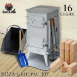 koza Grillpal 307 - 16 cegieł