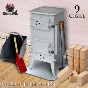 koza Grillpal 324 - 9 cegieł