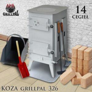 koza Grillpal 326 - 14 cegiel EXTRA GRUBY