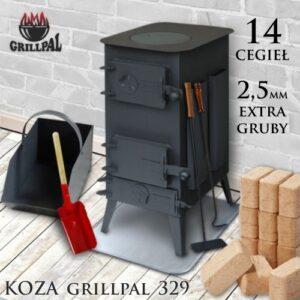 koza Grillpal 329 - 14 cegieł EXTRA GRUBY