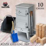 koza Grillpal 342 - 10 cegieł